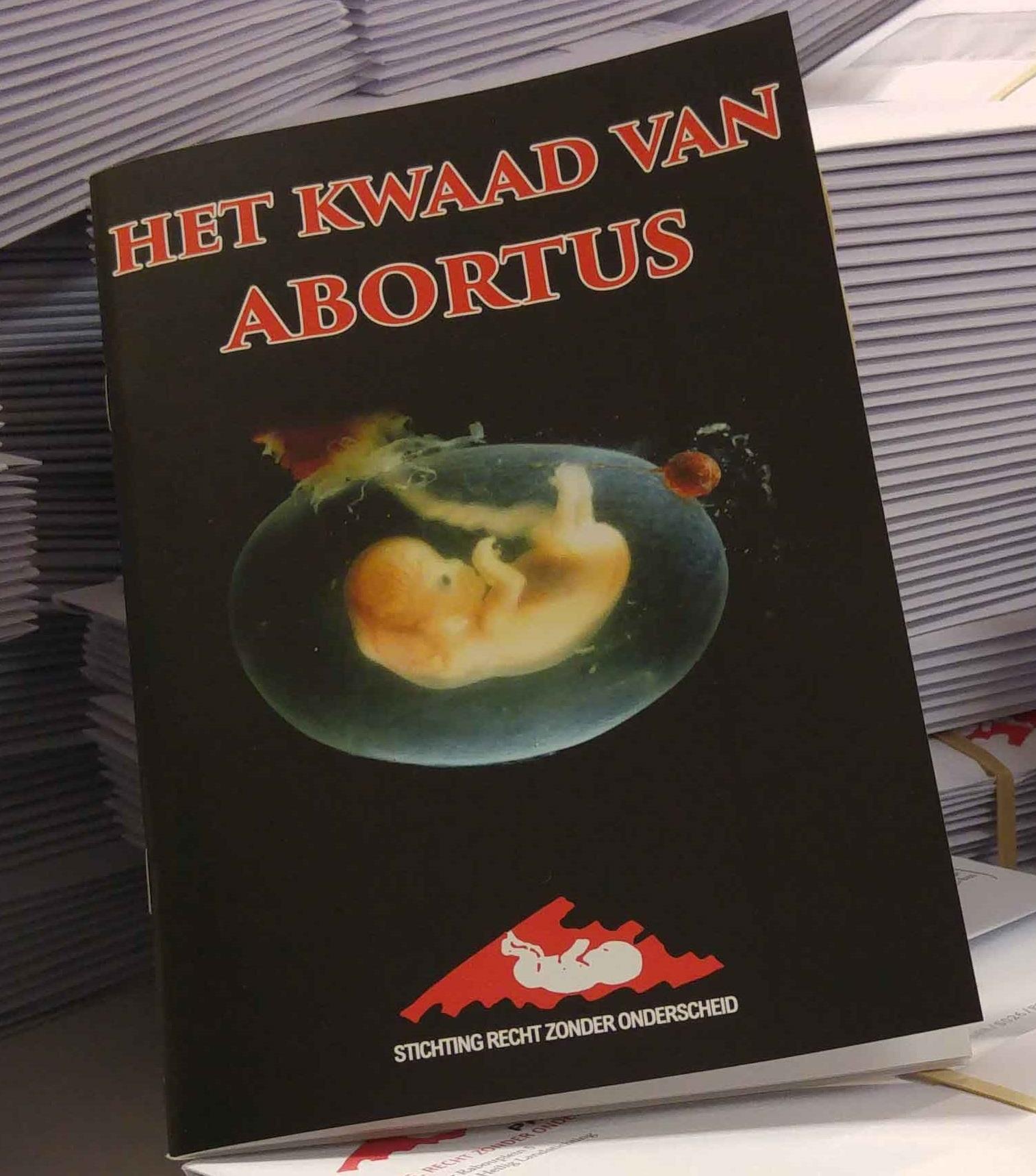 Pro-life brochure werpt licht op de duistere realiteit van abortus
