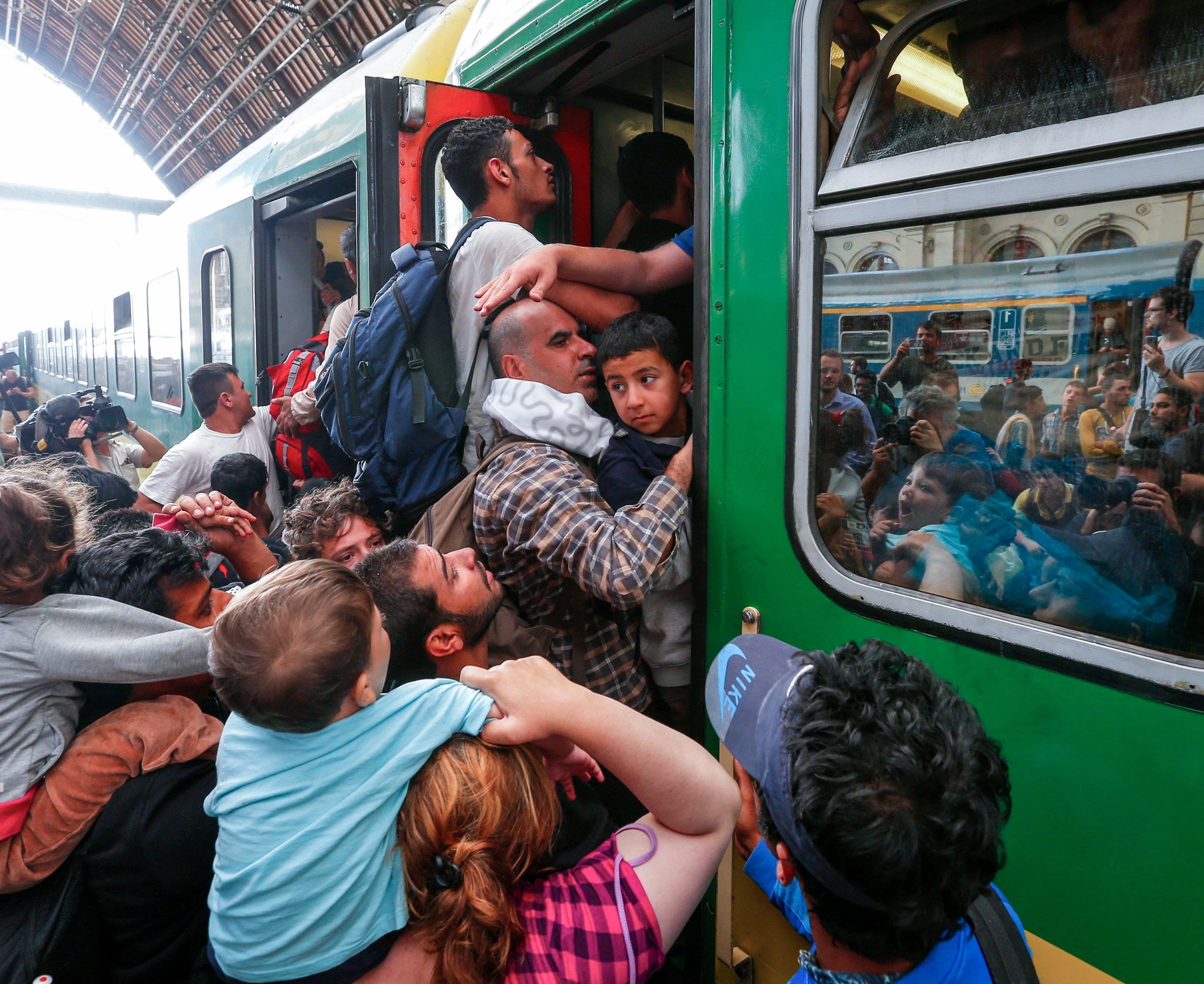 Massa-immigratie: recente ontwikkelingen