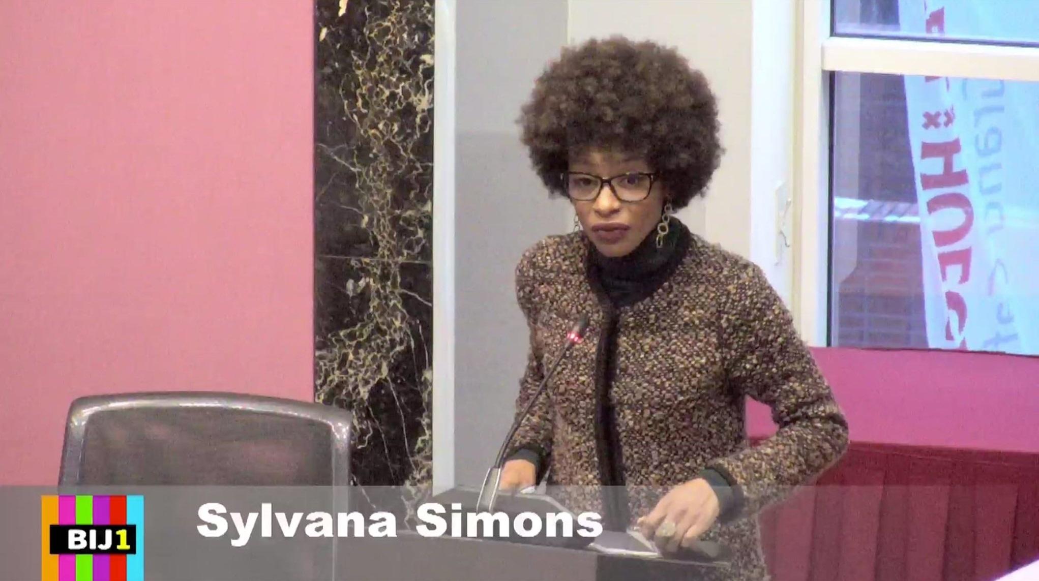 Partij van Sylvana Simons gaat protesteren tegen de Mars voor het Leven