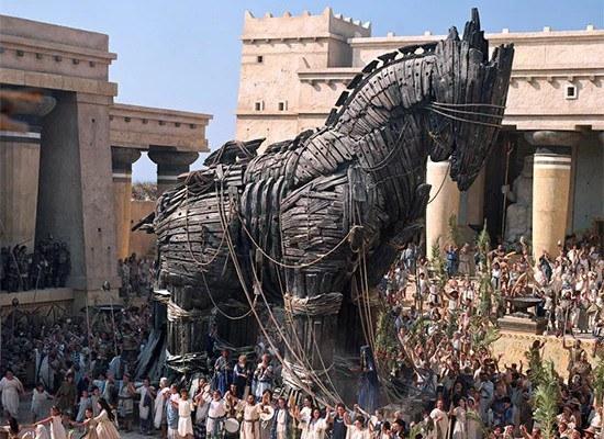 Radicale ecologie is een paard van Troje