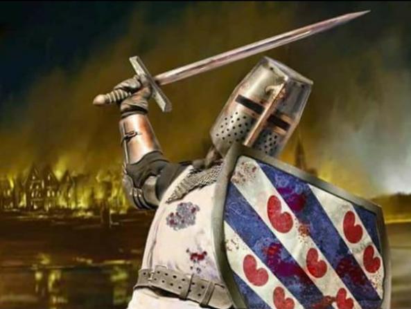 Zwarte Piethaters lijden grote nederlaag na Slag bij Dokkum