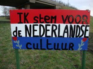 Nederlanders stemmen voor eigen cultuur