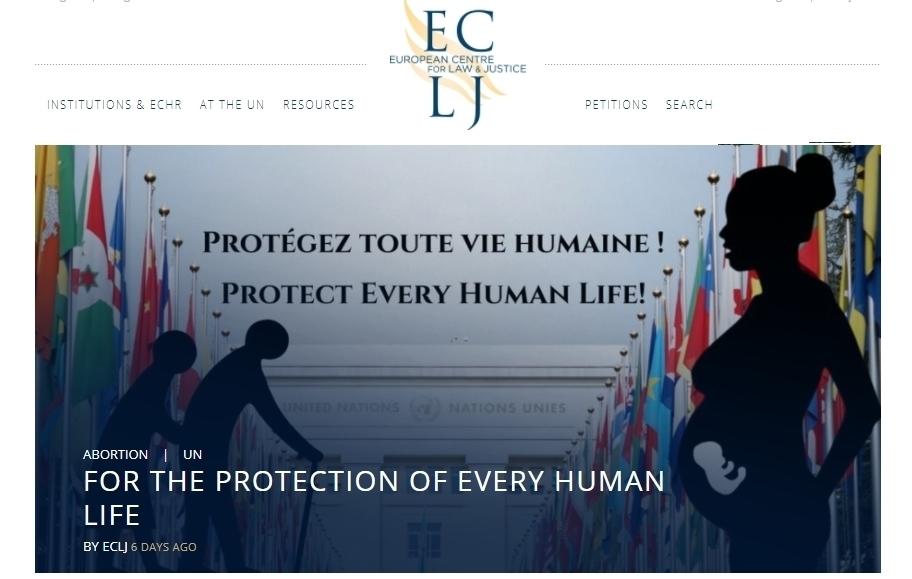 ECLJ: 'In achterkamertjes VN wordt 'mensenrecht' op abortus doorgedreven'