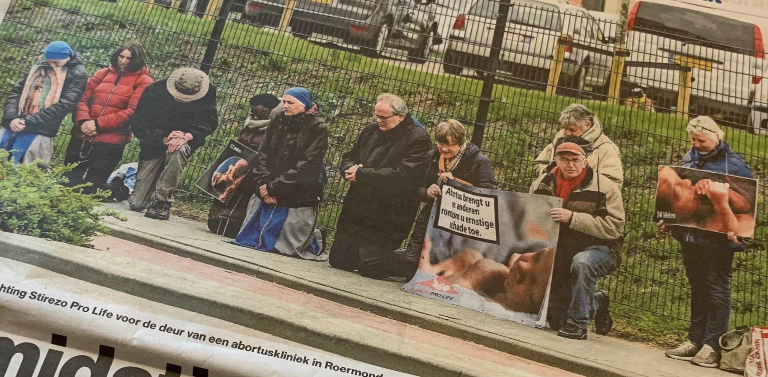 Algemeen Dagblad verspreidt nepnieuws over hulpverleners bij abortuscentra