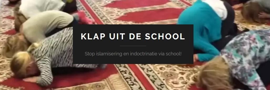Schoolkinderen bidden in moskee: het teken van onderwerping