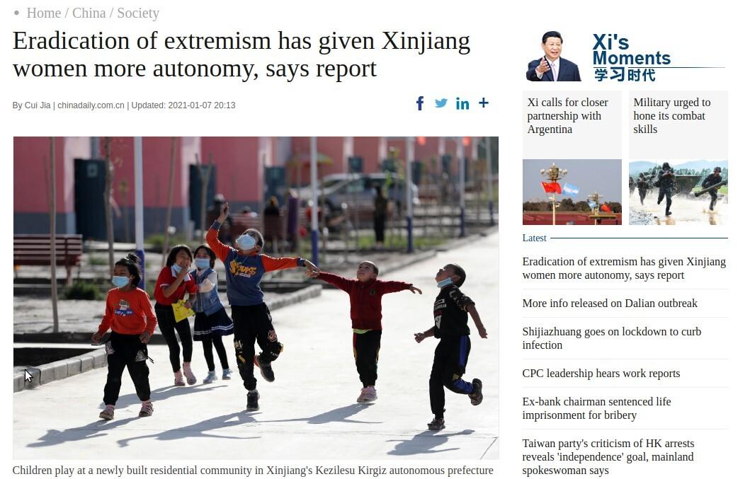 China verkoopt onderdrukking Oeigoeren met genderideologie