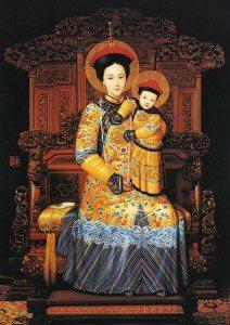 Onze Lieve Vrouw van Verlossing, Keizerin van China