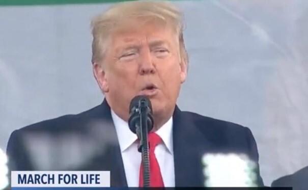 VOLLEDIGE TEKST: de historische toespraak van president Trump tijdens de March for Life 2020