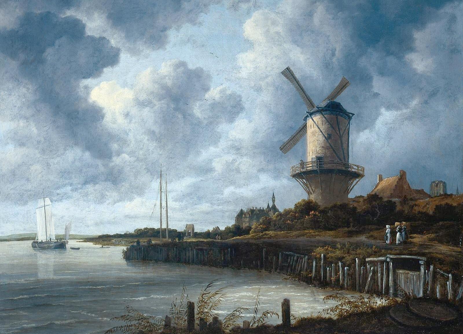 Windturbines bederven het Hollandse landschap