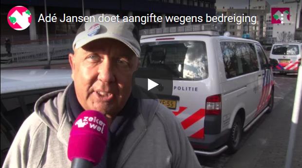 Adé Jansen geïnterviewd over aangifte tegen agressieve anti-PEGIDA-demonstranten