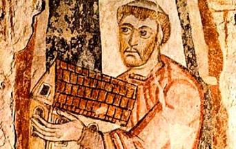 Lessen van de heilige Benedictus Biscop die de kerken van Engeland versierde