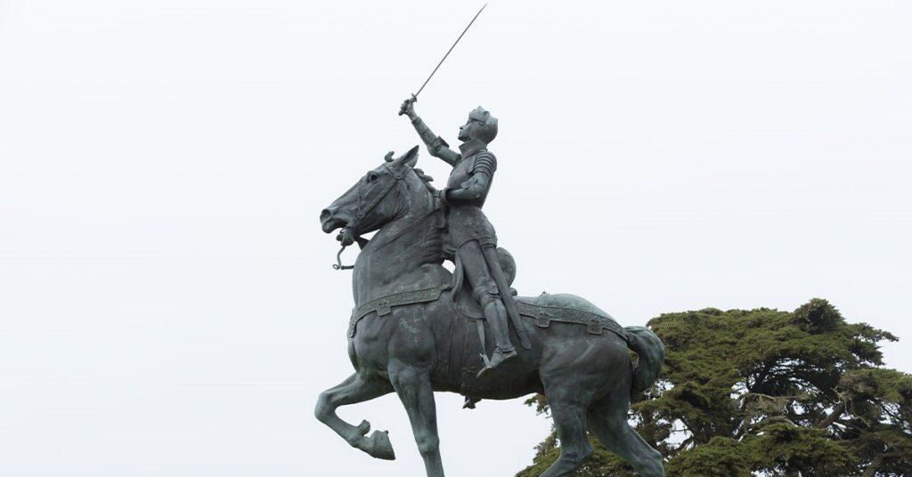 St. Jeanne d'Arc: de maagd die Frankrijk heeft gered