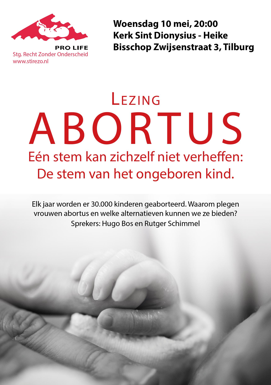 10 mei in Tilburg: Lezing over abortus en alternatieve hulp