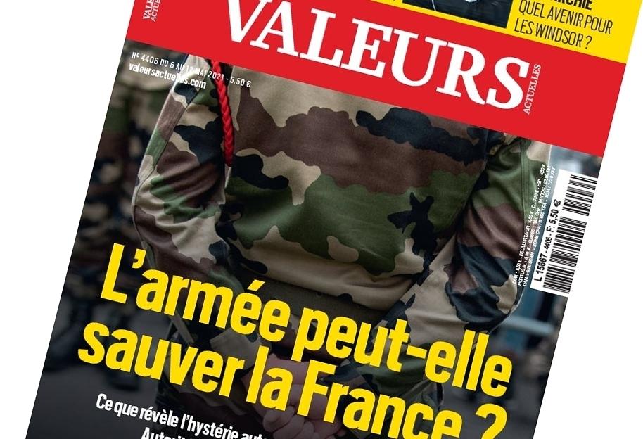 Nieuwe brief Franse militairen: regering, u weet heel goed dat burgeroorlog dreigt