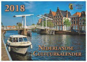 De Nederlandse Cultuurkalender 2018 ligt voor u klaar!