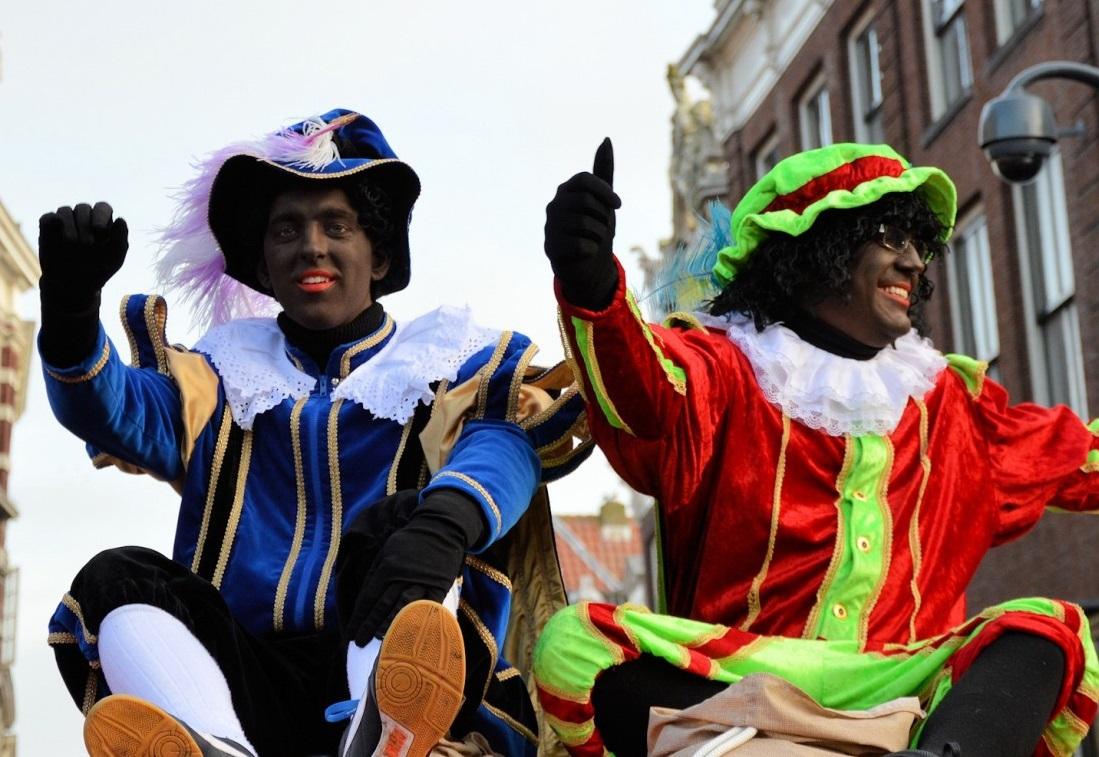 Een lespakket vóór Zwarte Piet.