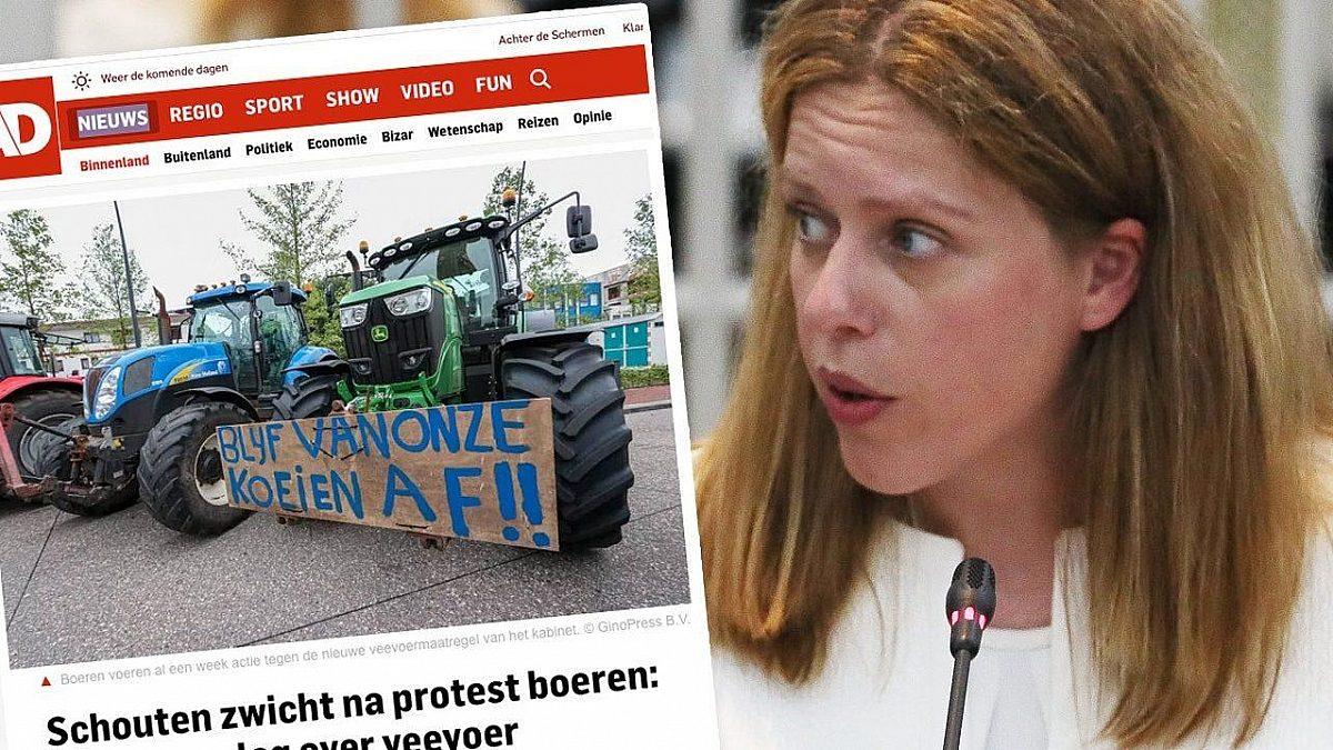 Stop de onteigening van de boeren!