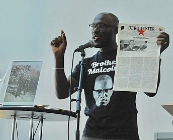 Mitchell Esajas lezing Marxisme Festival