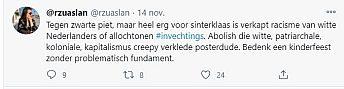 Screenshot Twitter Rzuaslan Sinterklaas 1