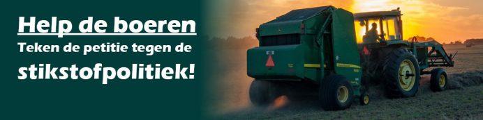 Help de boeren, teken de petitie tegen de stikstofpolitiek!