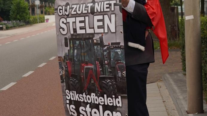 Straatcampagne stikstof boeren COV 3