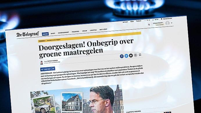 Rutte, stop de strijd tegen aardgas!