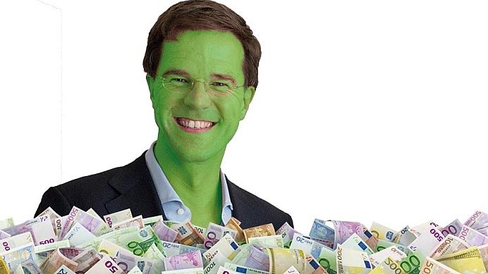Rutte, ga niet in zee met GroenLinks!