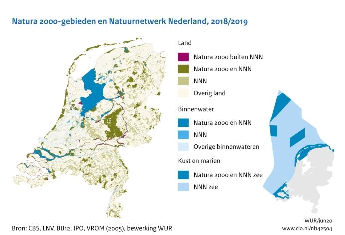 Natuurnetwerk nederland natura 2000 clo