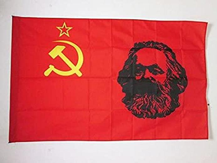 Communist flag Marx