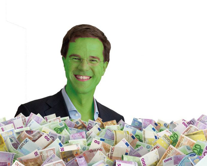 Rutte geld