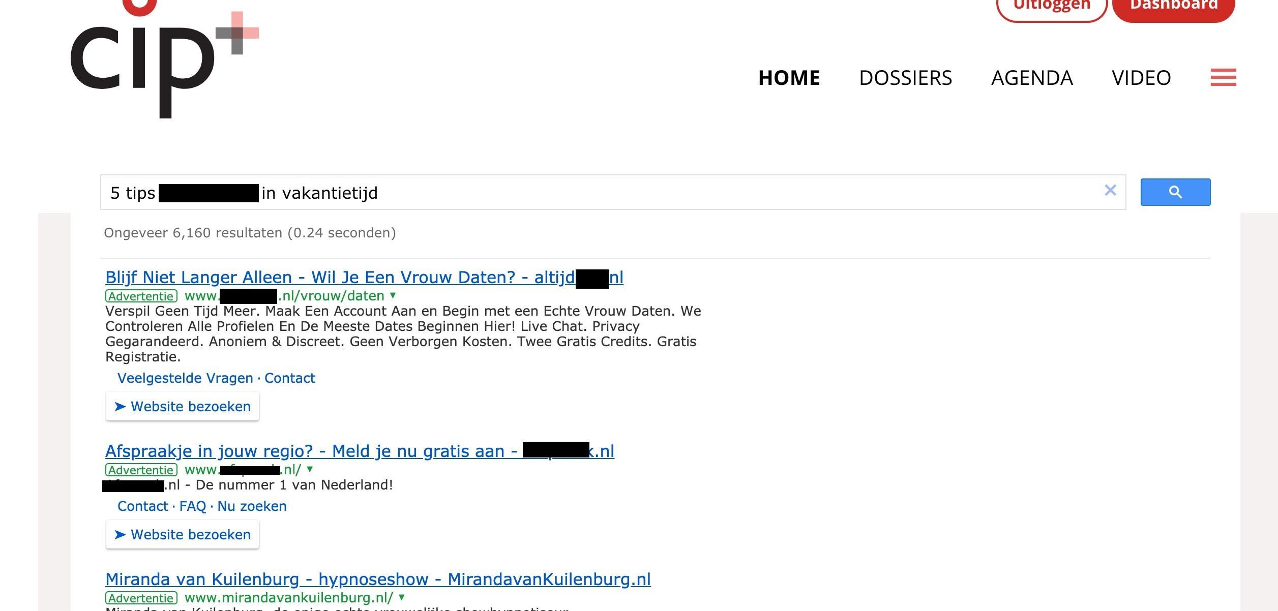 CIP.nl krijgt betaald voor promoten van seksuele zonden