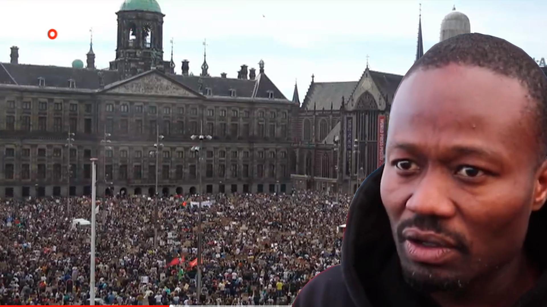 Gemeente Amsterdam geeft subsidie aan demonstranten op de Dam