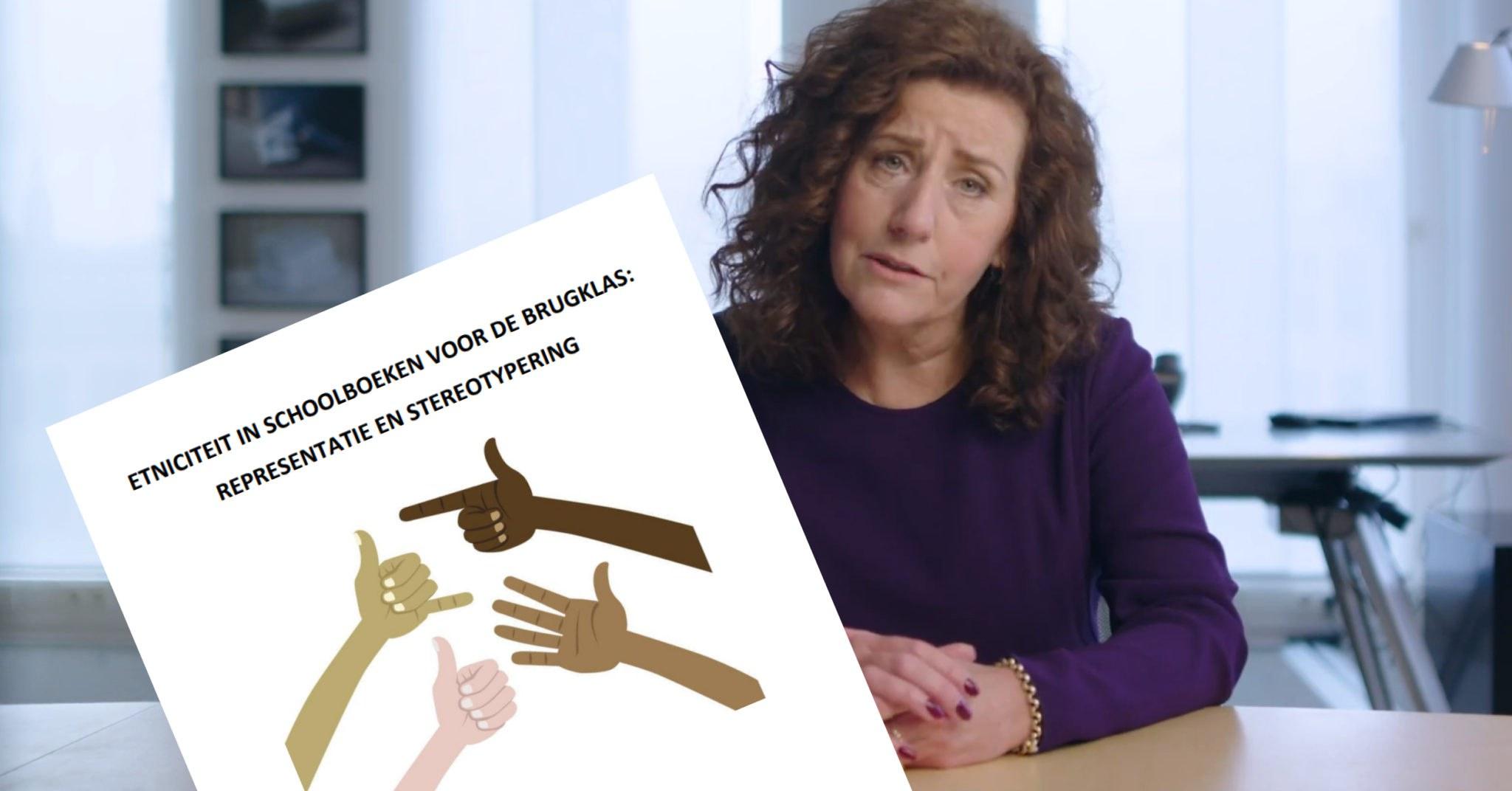 Betrapt: academisch rapport tegen 'stereotypering' in schoolboeken is besteld door D66-minister Van Engelshoven
