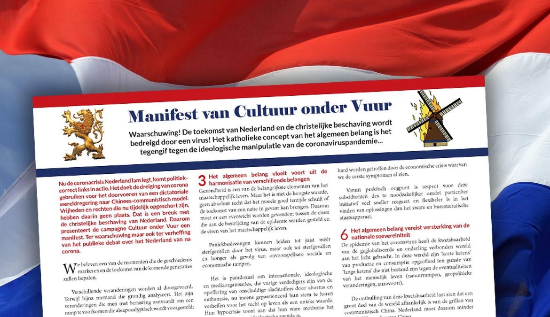 Lees ons manifest: antwoord op links-ideologisch misbruik van de coronacrisis
