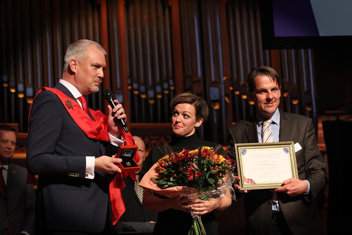 Jenny Douwes winnaar Nationale Vrijheidsprijs 2019