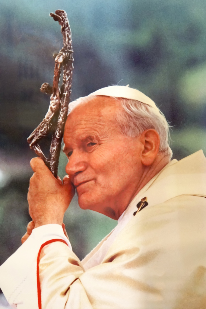 Johannes Paulus II over abortuswetten: 'Gehoorzaam God meer dan mens'