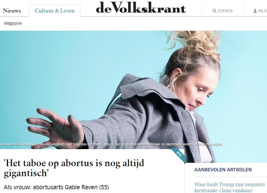 Nederlandse abortusarts: Ik maak gezonde vrouwen ziek