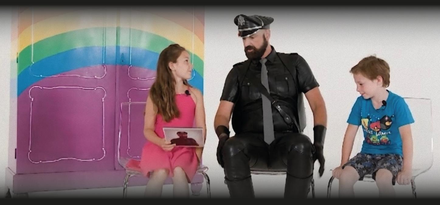 Kinderen horen bij RTL over handboeienseks door leernichten. Stop deze perverse tv!