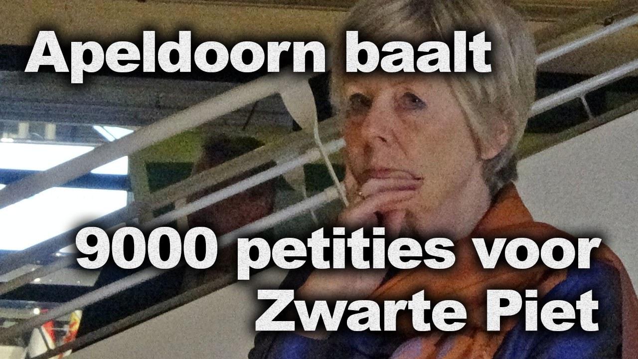 Apeldoorn baalt: 9000 petities voor Zwarte Piet