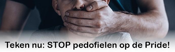 Burgemeester, stop pedofielen op de Pride!