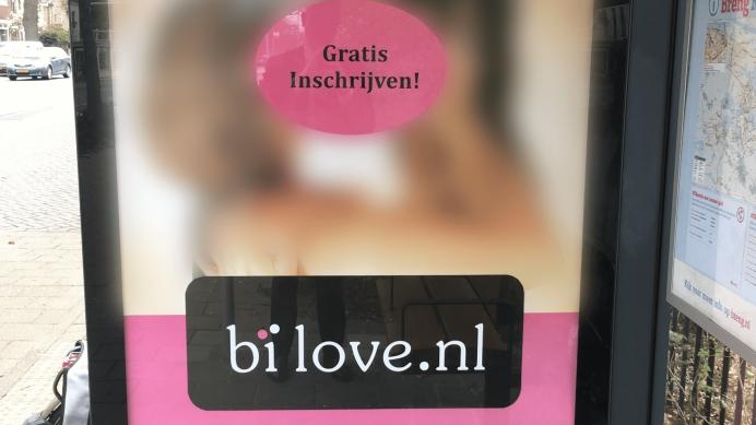 Bi-Love, stop met seksuele reclames!