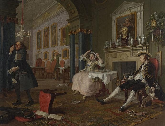 1024px Marriage A la Mode 2 The Tête à Tête William Hogarth