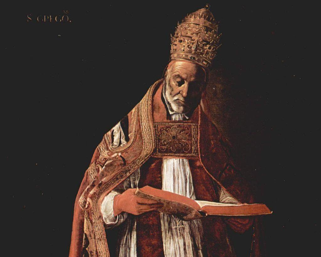 De heilige paus Gregorius, wegbereider van de Middeleeuwen