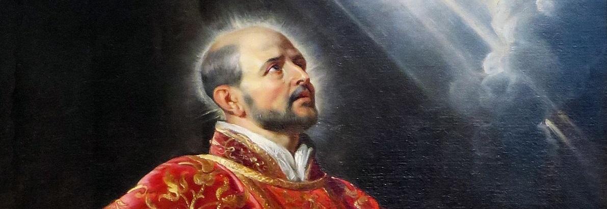 De wijsheid ontdekken van Sint-Ignatius van Loyola