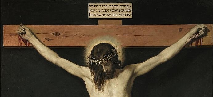 Cristo crucificado klein