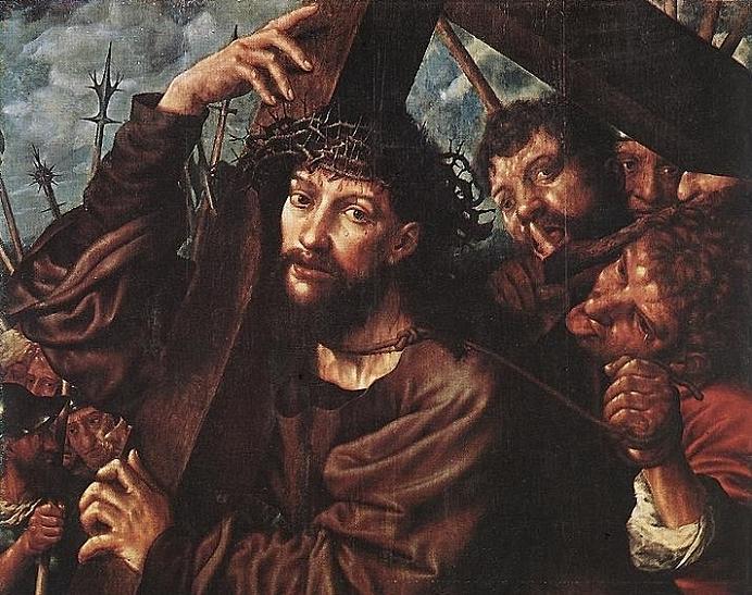 Jan van Hemessen Christ Carrying the Cross WGA11350